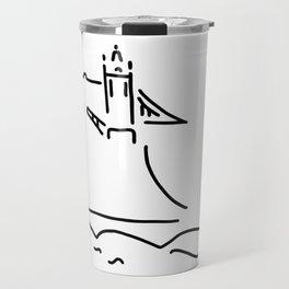 London tower bridge big ben Travel Mug