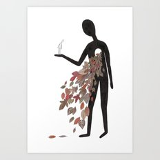 Out With It Art Print