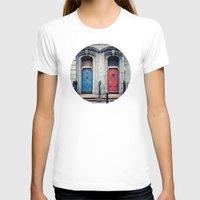 doors T-shirts featuring The Doors by unaciertamirada