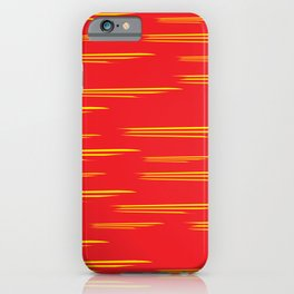 Texture lines abstract iPhone Case