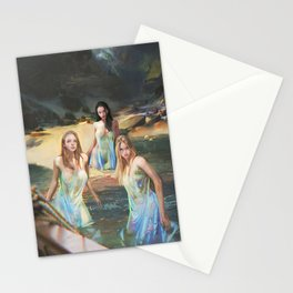 """Sirens (""""Charm of of the Ancient Enchantress"""" Series) Stationery Cards"""