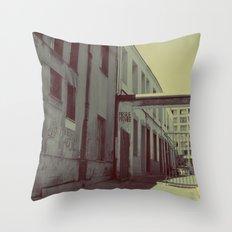 Wrong Way Throw Pillow