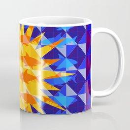 Sunsharks On Blue. Coffee Mug