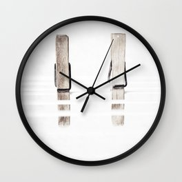 Ready for the bowing Wall Clock