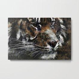 Majestic Tiger Metal Print