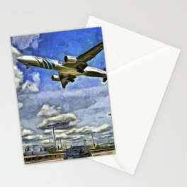 Airliner Vincent Van Gogh Stationery Cards
