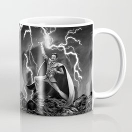 Tesla: God of Thunder Coffee Mug