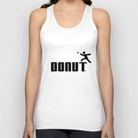 donut Tank Tops featuring Donut by Daniac Design