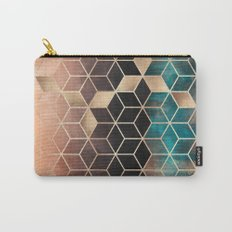 Ombre Dream Cubes Carry-All Pouch