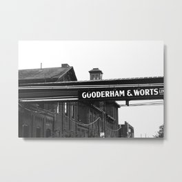 Gooderham & Worts Metal Print
