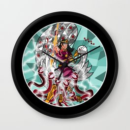 God of Victory4 Wall Clock