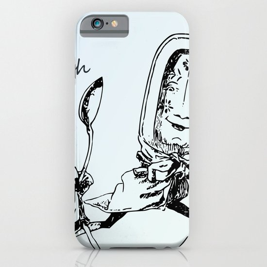 Vintage Dish and the Spoon iPhone & iPod Case