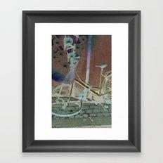 Melting Away Framed Art Print
