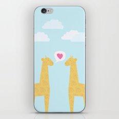 Spotty Giraffe iPhone & iPod Skin