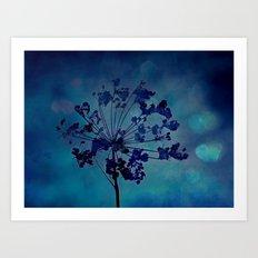 Grapesicle Art Print