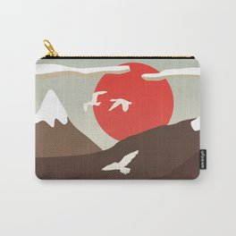 Swan Migration Carry-All Pouch