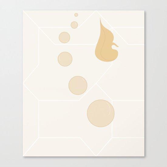Underwater - Version 2 - Orange Canvas Print