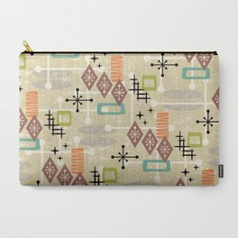 Retro Mid Century Modern Atomic Abstract Pattern 241 Carry-All Pouch