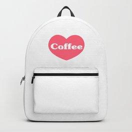 I Love Coffee Backpack