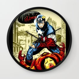 Civil War, Hail Hydra! Wall Clock