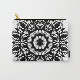 Positive Thoughts Mandala Carry-All Pouch