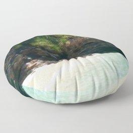 nui beach Floor Pillow
