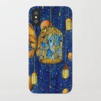 lanterns iPhone & iPod Cases featuring Lanterns by Anca Chelaru