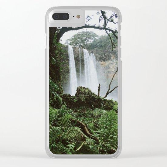 Wailua Falls Clear iPhone Case