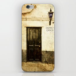 Gibraltar, district police office iPhone Skin