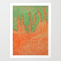 on a thousand islands in the sea Art Print