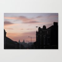 liverpool Canvas Prints featuring Liverpool by Miriam Sauter