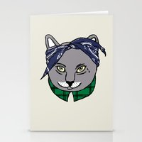 archer Stationery Cards featuring Archer by YEAH RAD STOKED
