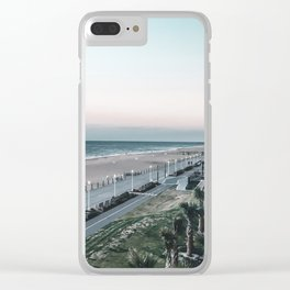 Sunset over Virginia Beach, VA Clear iPhone Case