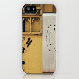 Pay Phone IV iPhone Case