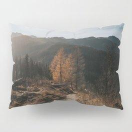Autumn Hike - Landscape and Nature Photography Pillow Sham