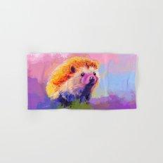 Sweet Hedgehog Hand & Bath Towel