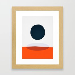 Form 02 Framed Art Print