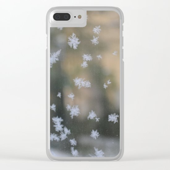 "It's frosty ""Ice Flower"" #2 #art #society6 Clear iPhone Case"