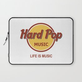 Hard Pop Music Laptop Sleeve