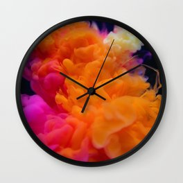 Colors Explosion Wall Clock