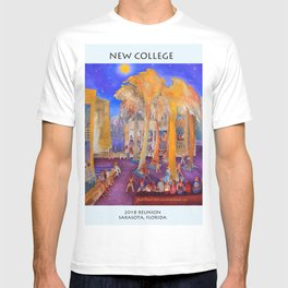 New College Palm Court Party T-shirt