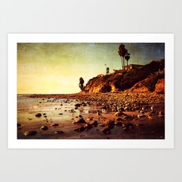 Where the awareness of existence is immensely heightened Art Print