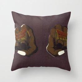 LoveHate Throw Pillow