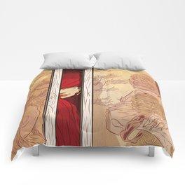 You again... Comforters