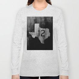 Texas Ranch Road 12 Long Sleeve T-shirt