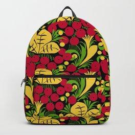 Folk Art Floral Backpack