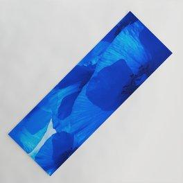 Blue Poppies #decor #society6 #buyart Yoga Mat