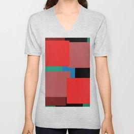 Colourblock by definition Unisex V-Neck