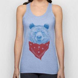 Wild bear (color version) Unisex Tank Top