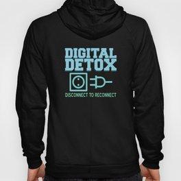 Digital Detox Offline Meditation Focus Karma Hoody